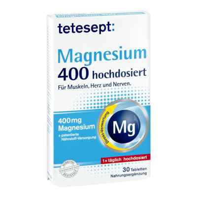 Tetesept Magnesium 400 hochdosiert Filmtabletten
