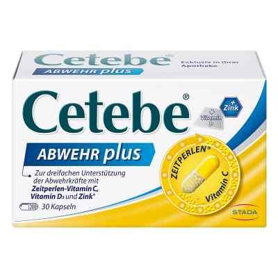 Cetebe Abwehr plus Vitamin C+vitamin D3+zink Kapsel (n)   bei apotheke.at bestellen
