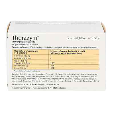 Therazym Tabletten  bei apotheke.at bestellen