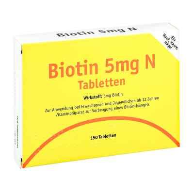 Biotin 5 mg N Tabletten