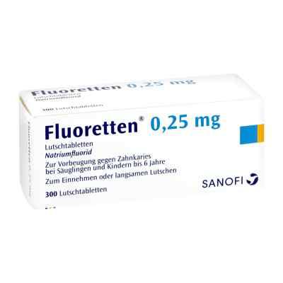 Fluoretten 0,25mg  bei apotheke.at bestellen