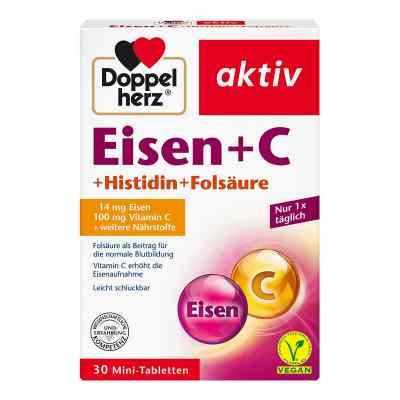 Doppelherz Eisen+vit.c+l-histidin Tabletten  bei apotheke.at bestellen