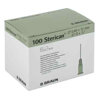 Sterican Ins.einm.kan.27gx1/2 0,40x12 mm  bei apotheke.at bestellen
