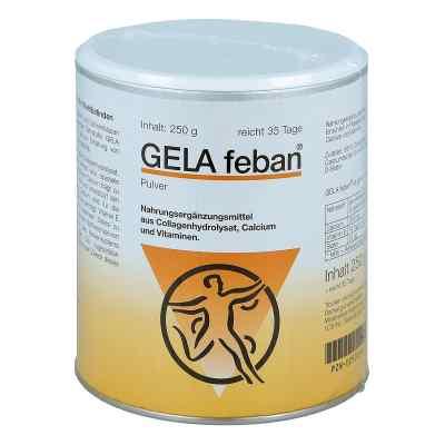 Gelafeban Pulver mit Gelatinehydrolysat plus  bei apotheke.at bestellen