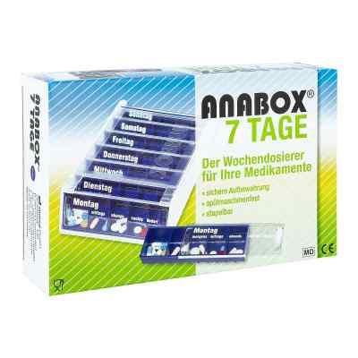Anabox 7 Tage Wochendosierer blau  bei apotheke.at bestellen