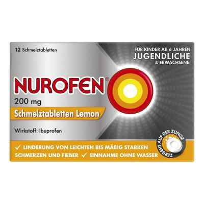 Nurofen 200mg Lemon  bei apotheke.at bestellen