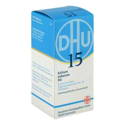 Biochemie Dhu 15 Kalium jodatum D6 Tabletten  bei apotheke.at bestellen