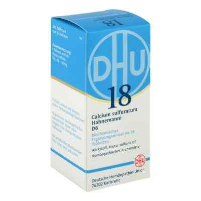 Biochemie Dhu 18 Calcium sulfuratum D6 Tabletten  bei apotheke.at bestellen