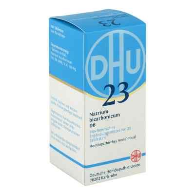 Biochemie Dhu 23 Natrium bicarbonicum D6 Tabletten  bei apotheke.at bestellen