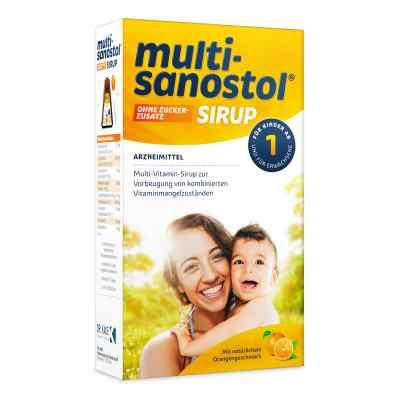 Multi Sanostol Sirup ohne Zuckerzusatz  bei apotheke.at bestellen
