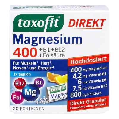 Taxofit Magnesium 400+b1+b6+b12+folsäure 800 Granulat