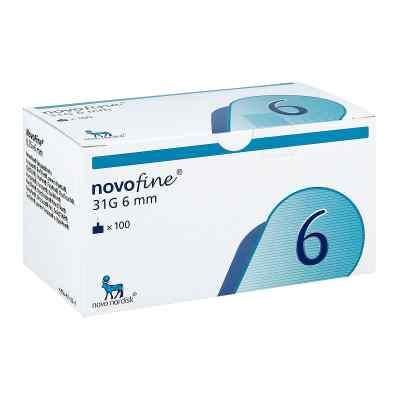 Novofine 6 mm Kanülen 31 G Cpc  bei apotheke.at bestellen