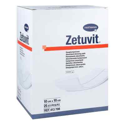 Zetuvit Saugkompresse steril 10x10 cm  bei apotheke.at bestellen