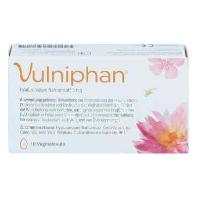 Vulniphan Vaginalovula  bei apotheke.at bestellen