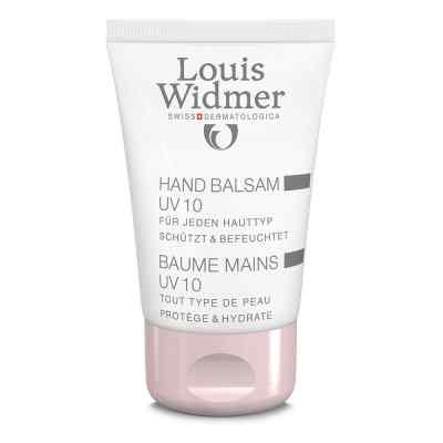 Widmer Hand Balsam Uv10 leicht parfümiert