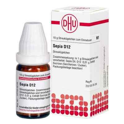 Sepia D 12 Globuli  bei apotheke.at bestellen