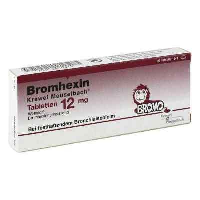 Bromhexin Krewel Meuselbach 12mg  bei apotheke.at bestellen