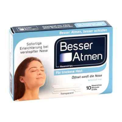 Besser Atmen Nasenstrips transparent normale Grösse  bei apotheke.at bestellen