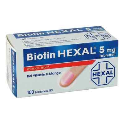 Biotin Hexal 5 mg Tabletten  bei apotheke.at bestellen