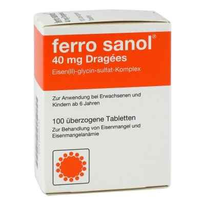 Ferro sanol 40mg Dragees  bei apotheke.at bestellen