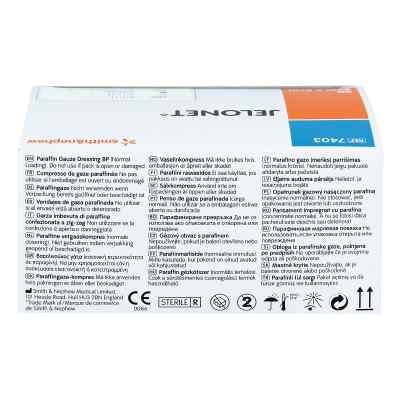 Jelonet Paraffingaze 5x5 cm Peelpack steril  bei apotheke.at bestellen
