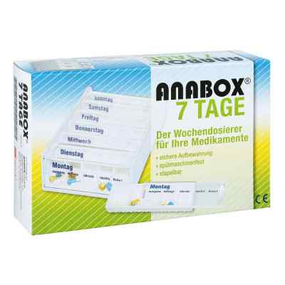 Anabox 7 Tage Wochendosierer weiss  bei apotheke.at bestellen