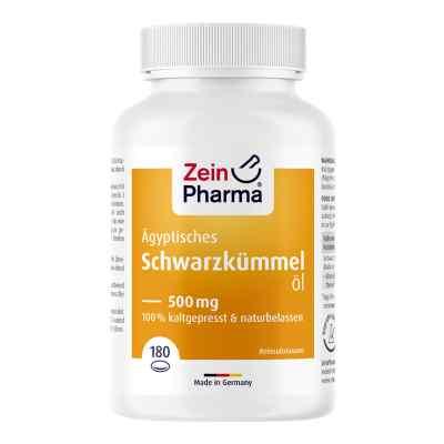 ägyptisches Schwarzkümmelöl Kapseln 500 mg  bei apotheke.at bestellen