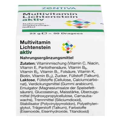 Multivitamin Lichtenstein aktiv Dragees