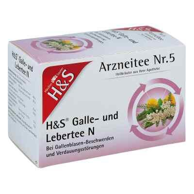H&s Galle- und Lebertee N Filterbeutel  bei apotheke.at bestellen