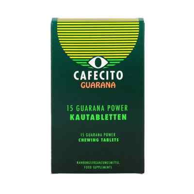 Guarana Cafecito Kautabletten