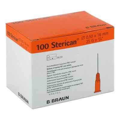 Sterican Ins.einm.kan.0,50x16mm  bei apotheke.at bestellen