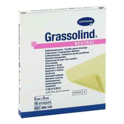 Grassolind Salbenkompressen 5x5 cm steril  bei apotheke.at bestellen