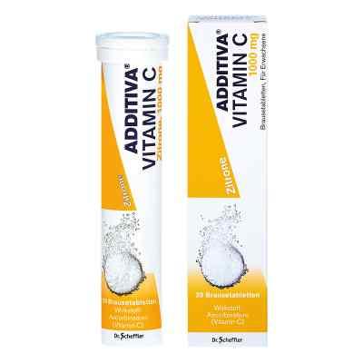 Additiva Vitamin C 1 g Brausetabletten  bei apotheke.at bestellen
