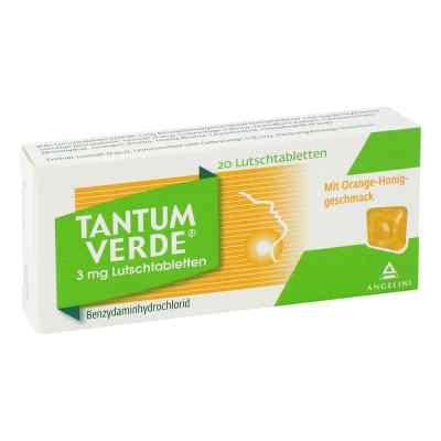 Tantum Verde 3 mg Lutschtabletten mit orange-honiggeschm.  bei apotheke.at bestellen