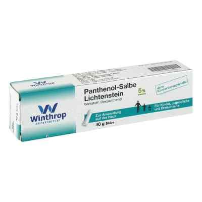 Panthenol-Salbe Lichtenstein  bei apotheke.at bestellen