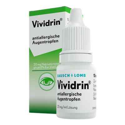 Vividrin antiallergische Augentropfen  bei apotheke.at bestellen