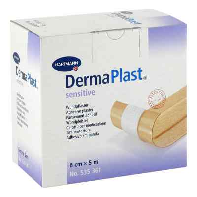 Dermaplast Sensitive Pflaster 6 cmx5 m