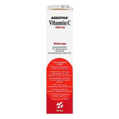 Additiva Vitamin C Blutorange Brausetabletten  bei apotheke.at bestellen