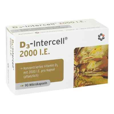 D3-intercell 2000 I.e. Kapseln  bei apotheke.at bestellen