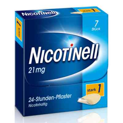 Nicotinell 21mg/24-Stunden-Nikotinpflaster, Stark (1)  bei apotheke.at bestellen