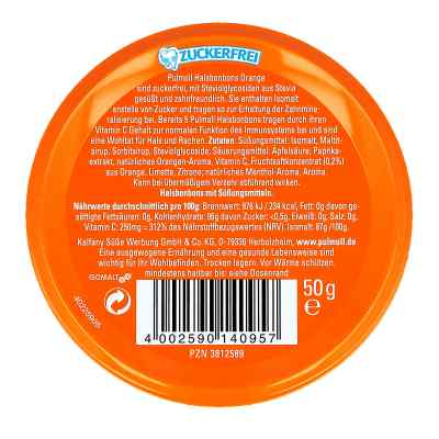 Pulmoll Hustenbonbons Orange + Vitamine c, zf.