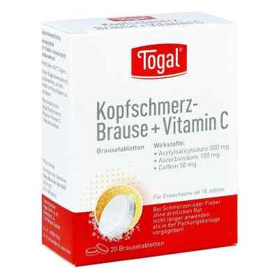Togal Kopfschmerz-Brause+Vitamin C