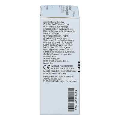 Xylocain Pumpspray Dental