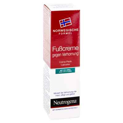 Neutrogena norweg.Formel Fusscreme gegen   Verhornung