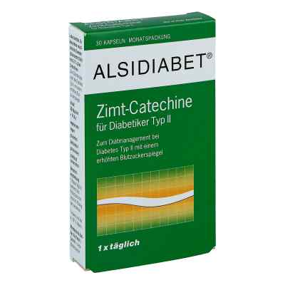 Alsidiabet Zimt Catechine für Diab.Typ Ii Kapseln