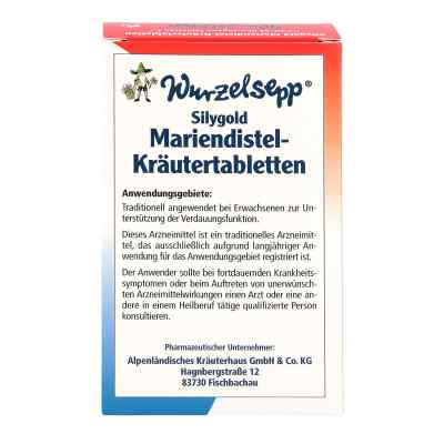 Wurzelsepp Mariendistel-Kräutertabletten