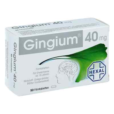 Gingium 40mg  bei apotheke.at bestellen