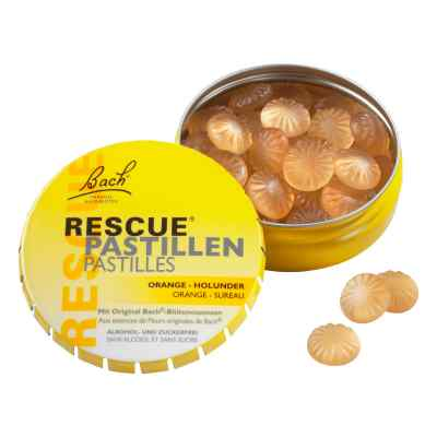 Bach Original Rescue Pastillen Orange Holunder  bei apotheke.at bestellen