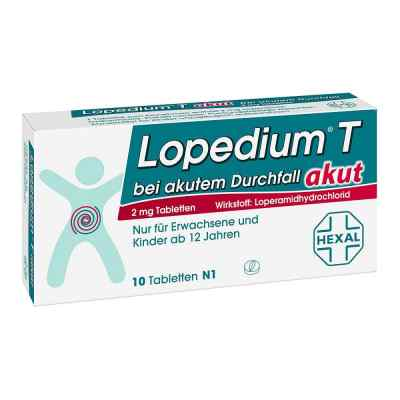 Lopedium T akut bei akutem Durchfall  bei apotheke.at bestellen