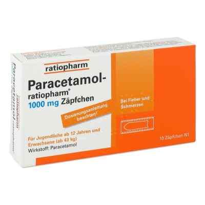 Paracetamol-ratiopharm 1000mg  bei apotheke.at bestellen